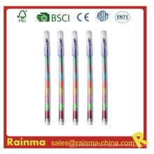 Muilt-Color Crayon Pen für Werbegeschenk