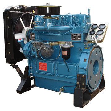 4 cilindros 30KW Motores baratos con bajo consumo de combustible