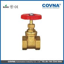 Aluminium hand wheel Brass gate valve