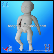 VENDA QUENTE manequim recém-nascido do silicone do bebê
