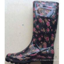zapatos de plástico de la jalea zapatos de jardín plásticos de la mujer