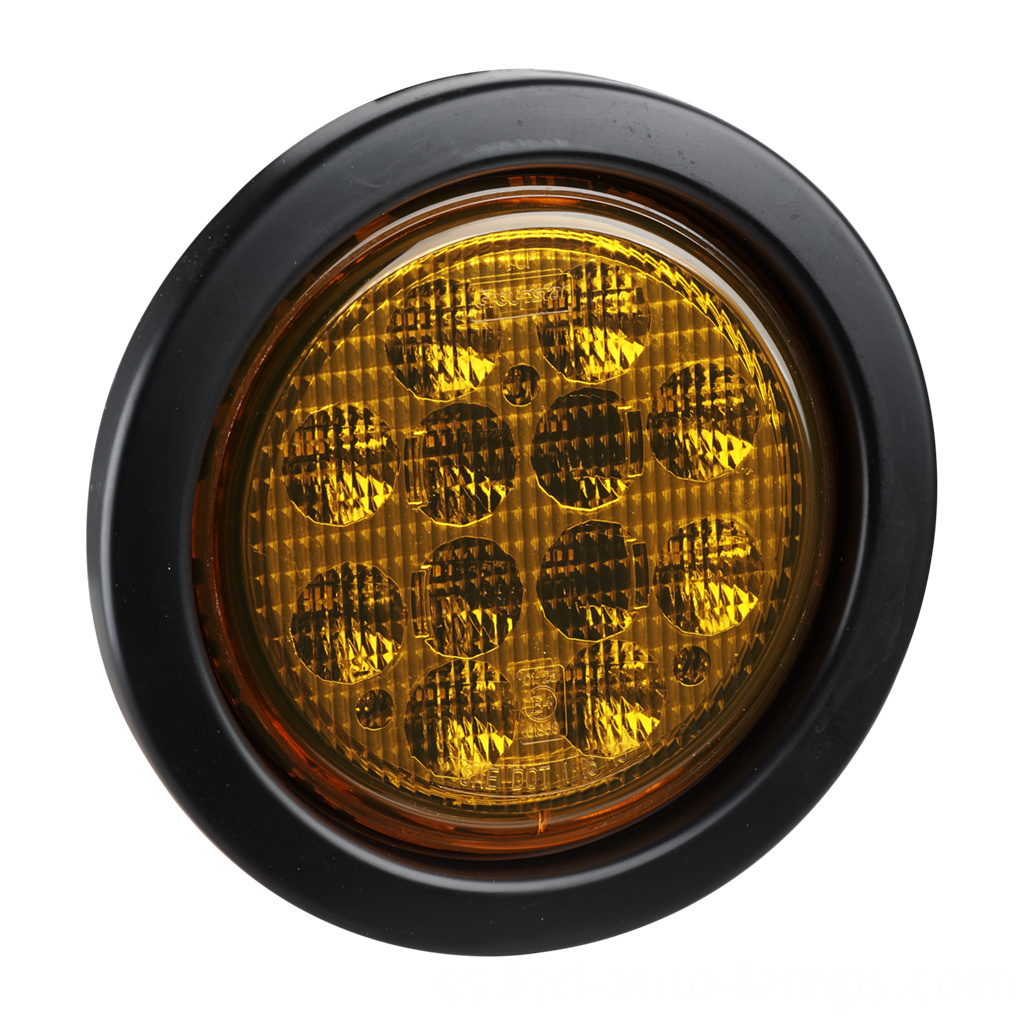 "4""DOT Round Trailer Truck Indicators Lighting"