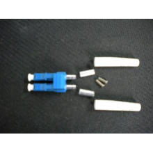 China Fábrica LC / PC Sm Duplex montado 3,0 mm Fiber Connector