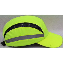 Reflective safety bump cap