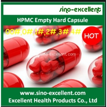 HPMC Empty Hard Capsule Clear and Other Color