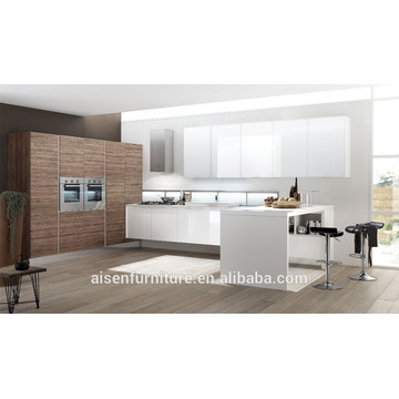 mixed style kitchen cabinet for European market