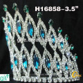 Schönheit große Kristall Königin Festzug Krone