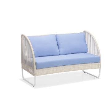 PE Rattan Outdoor Furniture Loveseats Sofa