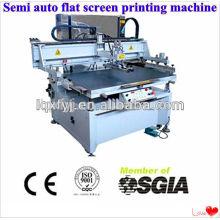 impressora de tela semi automática de vácuo