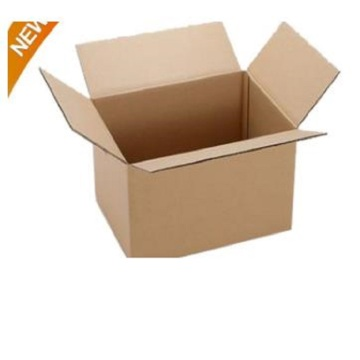 Large rigid cardboard corrugated shipping box