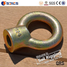 Carbon Steel Drop Forged Galvanized Eye Nut JIS1169