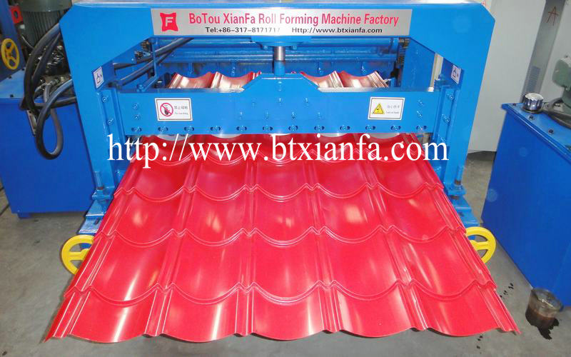 Full Automatic Tile Roll Forming Machine