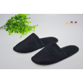 Zapatilla de Hotel Barato Black Terry Slipper