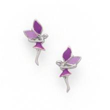 Preços de fábrica Brincos de esmalte 925 acessórios de jóias de prata (KE3002)