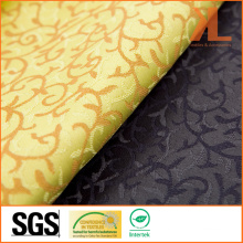 100% Polyester Quality Jacquard IVY Leaves Design Wide Width Table Cloth