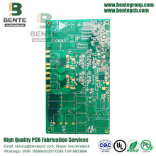 Multilayer PCB 6 Lagen PCB 1.6mm ± 0.1mm FR4 Tg170 ENIG 1u ""