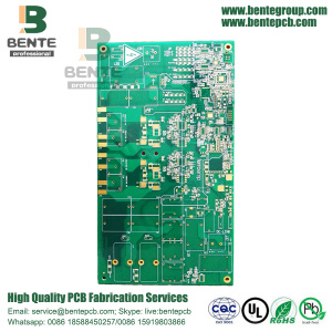 Multilayer PCB 6 Schichten Leiterplatte 1,6mm ± 0,1mm FR4 Tg170 ENIG 1u ""
