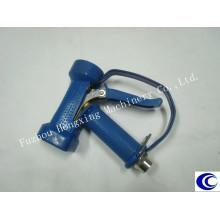 Pistola de lavado azul con arco (guardamonte)
