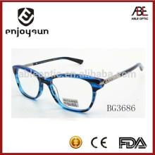 Повелительница водить проблескивая ацетат оптически eyewear оптовый Китай