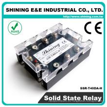 SSR-T40DA-H DC a AC SSR 40 Amp Relé de estado sólido trifásico