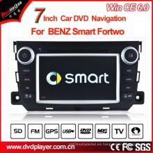 Reproductor de DVD del coche de Windows Ce para la navegación elegante del GPS del GPS de Fortwo GPS del Benz Hualingan