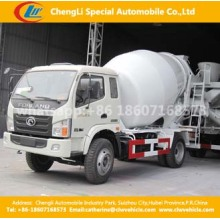 4X2 Foton 6cbm 180HP Concrete Mixer Truck with Hydraulic Pump