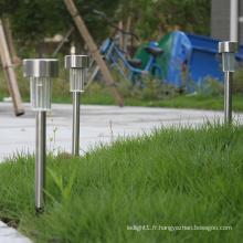 Lumière de pelouse à led solaire Utilisation de la lumière solaire