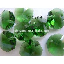 Cristal de wholsale cuentas del octagon del murano