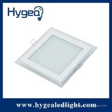 Prix bon marché IP55 ultra-mince 9w plat carré LED