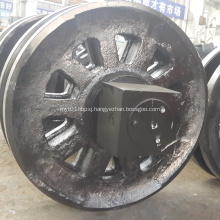 Front Idler Roller Undercarriage Parts For FUWA QUY50 Crawler Crane