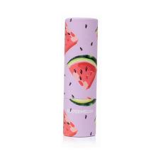 Tubo de batom batom nutritivo com sabor de frutas