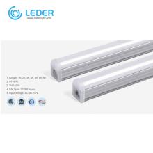 LEDER Dimmable Aluminum T5 3000K 8Ft LED Tube Light