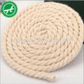 Corde torsadée de corde de coton de 3 brins pour la corde de jouet de chien