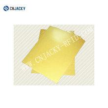 Струйной печати ПВХ для изготовления открыток с золото / серебро / Белый
