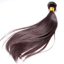 große Länge 16 Zoll Menschenhaar, echte brasilianische Haarfarbe # 2