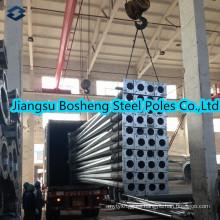 Equivalente chino estándar galvanizado acero eléctrico Polo