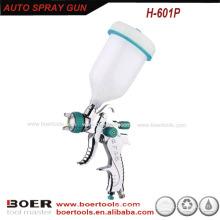 Hot Sale HVLP Spray Gun with plastic gravity cup H-601P