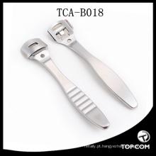 Callus milho cutícula removedor de pele dura barbeador pé pedicure kit + 10 lâmina ferramenta