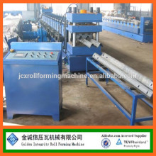 22KW,2/3 WAVES HIGHWAY GUARDRAIL ROLL FORMING MACHINE WITH HOLES