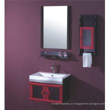 Mobília do armário de banheiro do MDF de 60cm (B-516B)