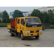 Dongfeng mobile scissor lift truck used for sale