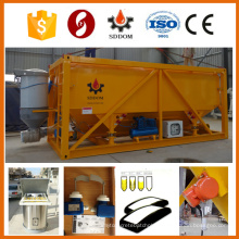 Container type horizontal cement silo,20 tons cement silo