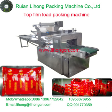 Gzb-250A High Speed Pillow-Type Biscuit Top Film Wrapping Machine