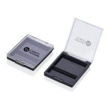 New Innovative Products Custom Eyeshadow Cases Square Cosmetics Eyeshadow Palette Case Private Label