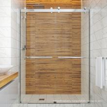 Seawin Cabin Room Glass Complete Double Tempered Sliding Design Floor Prefab Shower Door