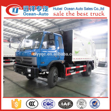 Dongfeng 10cbm compression garbage vehicle sale