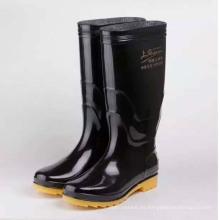 Hombres impermeable PVC impermeable calzado de trabajo seguridad lluvia botas