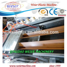 twin screw extruder for WPC PE profile production line