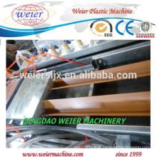 extrusora de parafuso duplo para linha de produção de perfil de WPC PE