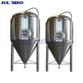 Tanque de fermentación de cerveza de vino de acero inoxidable industrial de KUNBO